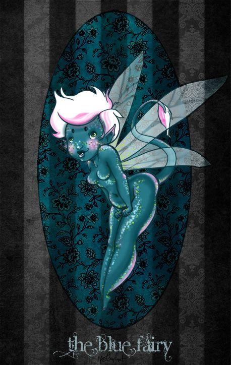 My little blue fairy, 2013