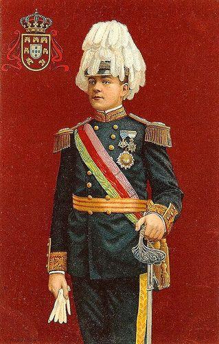 D. Manuel II colored print | Portuguese Kings - D. Manuel ...