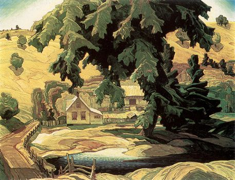 Farm, Haliburton ~ Franklin Carmichael