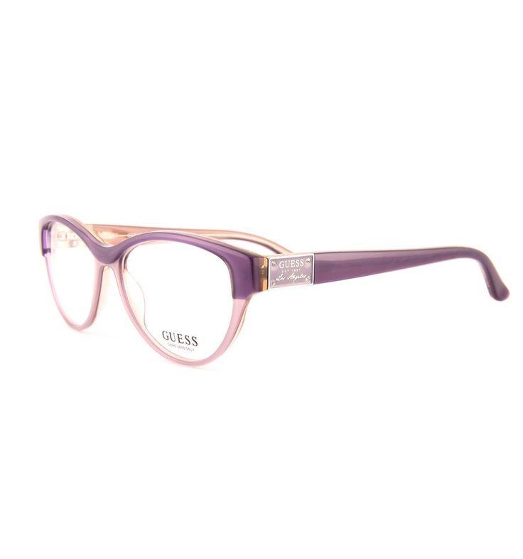 Dámské Brýle Guess GU2322 PUR #guess #damske #bryle #optika #praha #eurooptik #moda #modni #eyeglasses