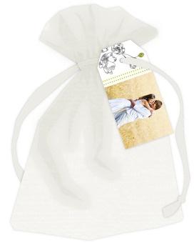 Wedding Favor Tags and Organza Bags - Design: Decorative Spring
