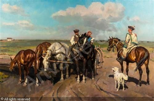VISKI János (Jean - Les chevaux
