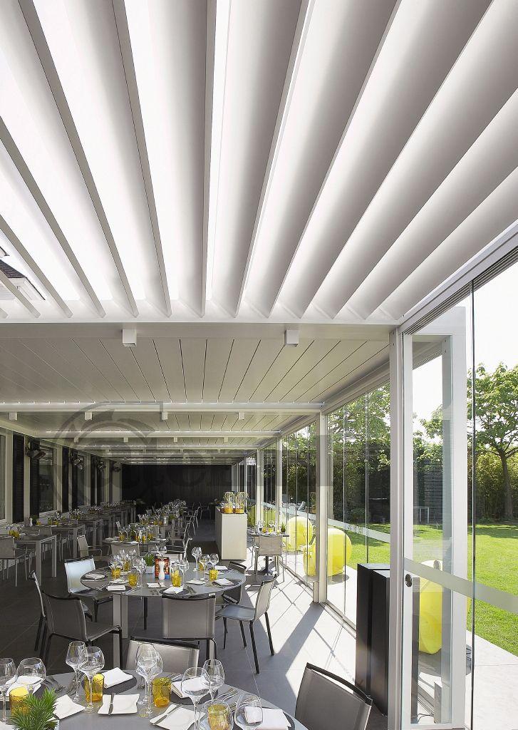 Camargue by Renson aluminium terrace covering