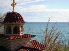 View to the sea at #Fourka beach #Kassandra #Halkidiki #Greece