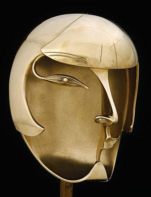 """Pablo Gargallo Spain/France 1881-1934 '' Kiki de Montpamasse """" 1928, cast 1978 Bronze. Musée d'Art Moderne de la Ville de Paris Gift of Pierette Anguera-Gargallo, 1981"""