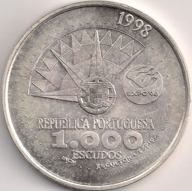 Wertseite: Münze-Europa-Südeuropa-Portugal-Escudo-1000.00-1998-EXPO 98