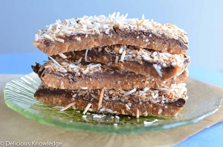 Love Girl Scout cookies? Then you'll go nuts for these Chewy Samoa Bars!