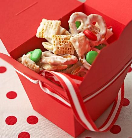 Christmas Party Favors: Homemade Holiday Food Gifts - Edible Christmas Gift Ideas