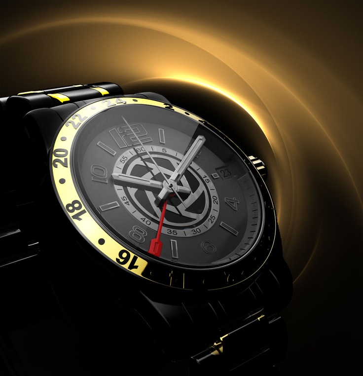 3D rendering of KeyShot watch by Federico deMegni