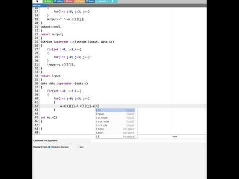 Add Matrix Using Stream And Operator Overloading In C++ - Computer Aided...