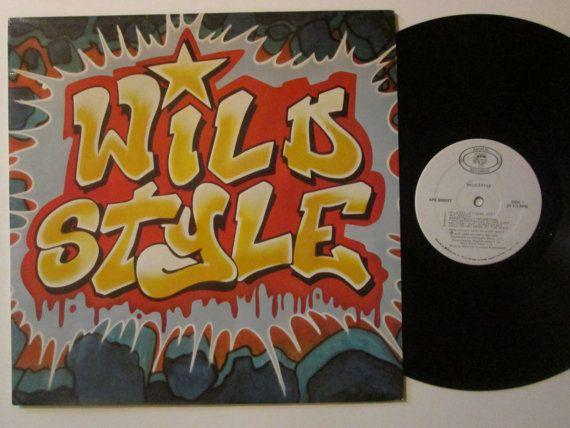 Rare Vinyl Record Wild Style Hip Hop Rap Fab by RecordStoreGirl