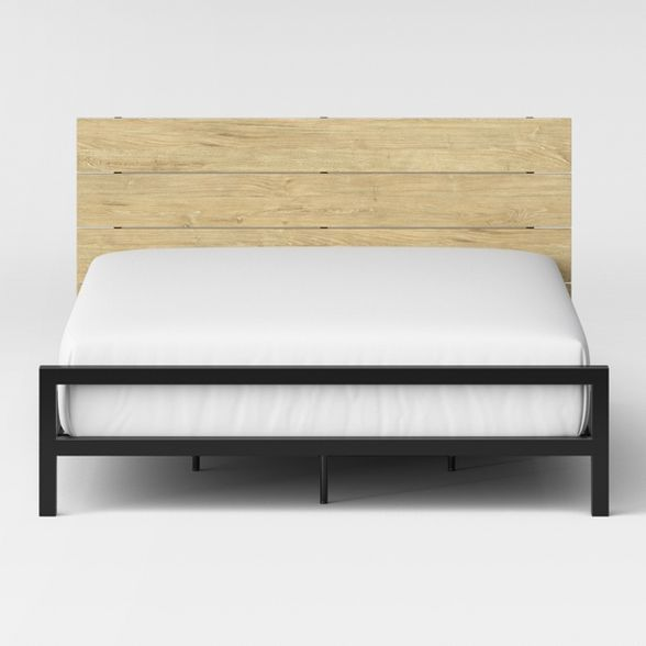 Pin On Pretty Decor Ideas, Metal Bed Frame Queen Target