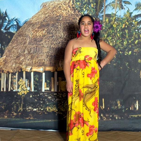 Edith Amituanai, Veronique Kini at the Sunday School Ball, 2012, from Ranui 135