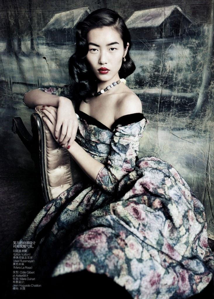 Liu Wen and Louis Vuitton