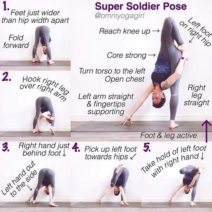 Позы и описание йоги в картинках с описанием