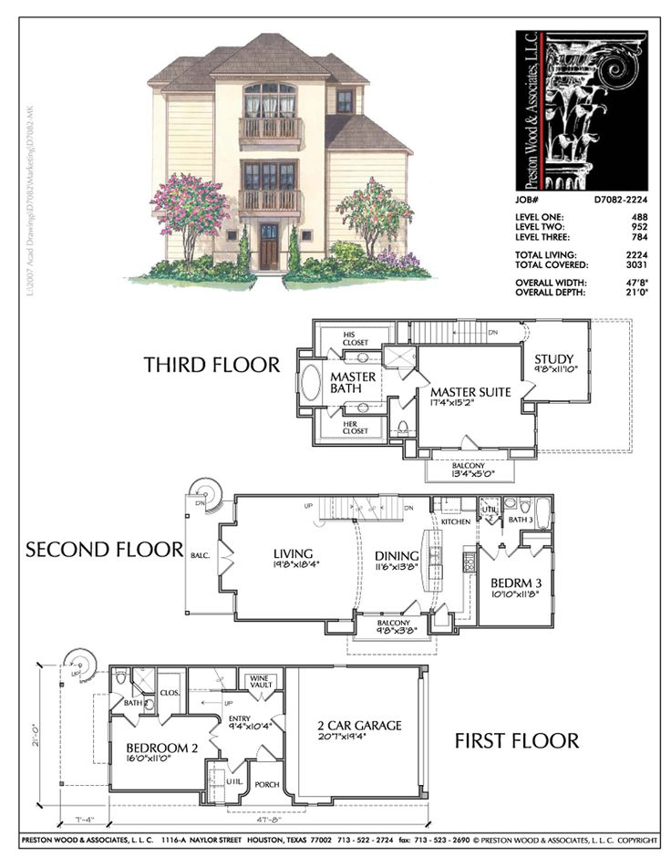 25 best images about townhouse plans on pinterest floor for Best townhouse design