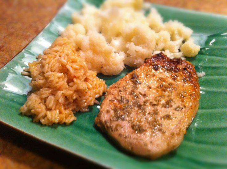 Pork chops so moist and tender use a thin cut pork chop for best