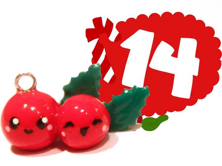 ❤ Holly! Kawaii Christmas 14 -Polymer Clay tutorial