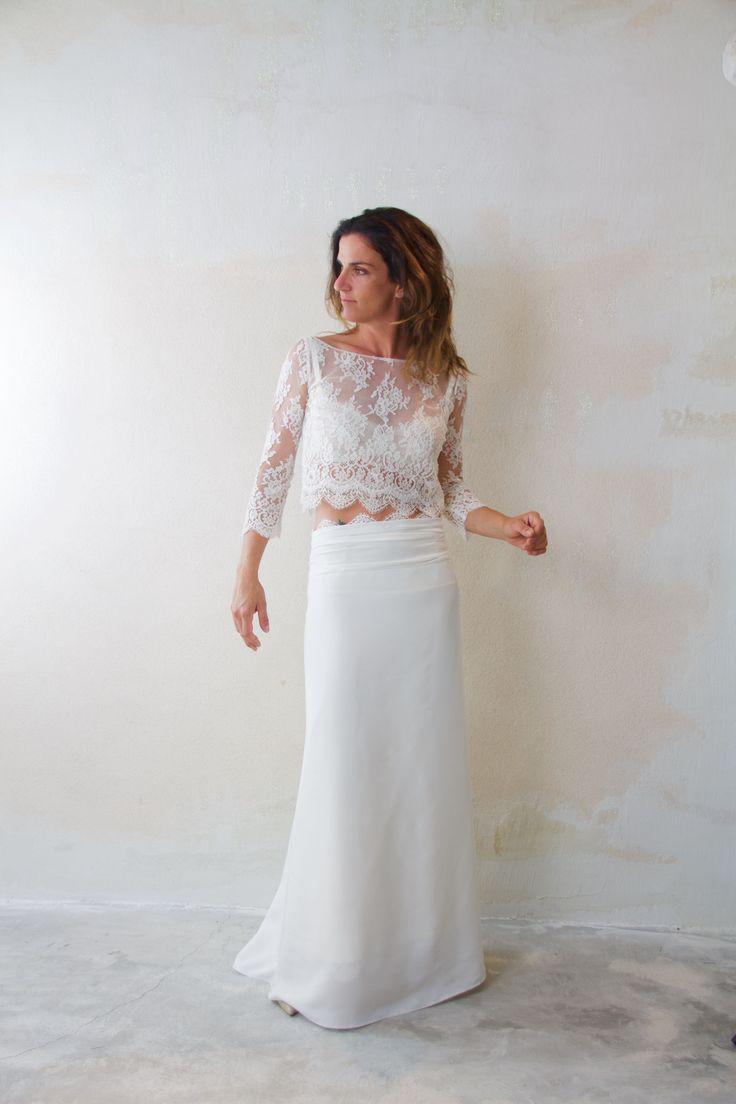 17 meilleures images propos de robe de mari e dentelle for Robe de mariage et jupe