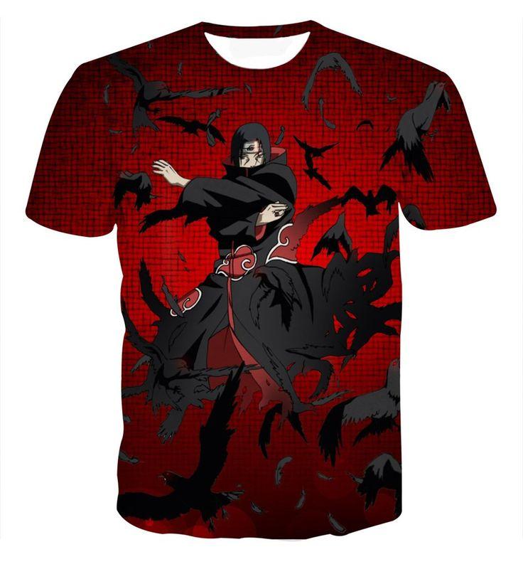 Powerful Uchiha Itachi Akatsuki Criminal Clan Deadly Skill Trendy T-shirt    #Powerful #Uchiha #Itachi #Akatsuki #Criminal #Clan #Deadly #Skill #Trendy #Tshirt