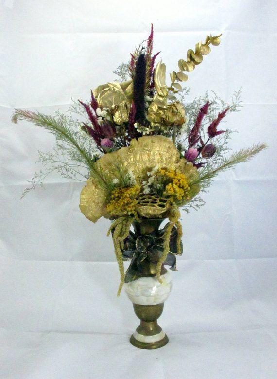 46 best Christmas Dry Flower Arrangements images on ...