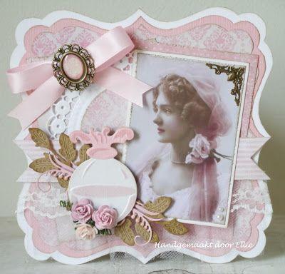 Ellie's Kaarten: Ladiesvintagekaart