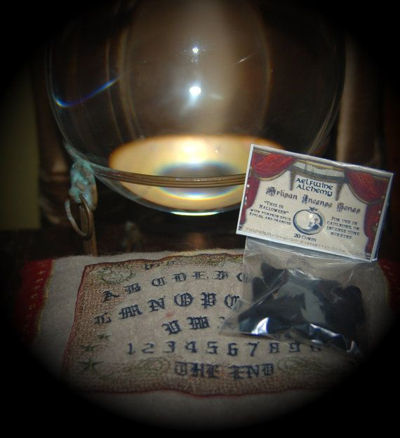 Nag Champa Scented Artisan Incense Cones by AelfwineBotanicals