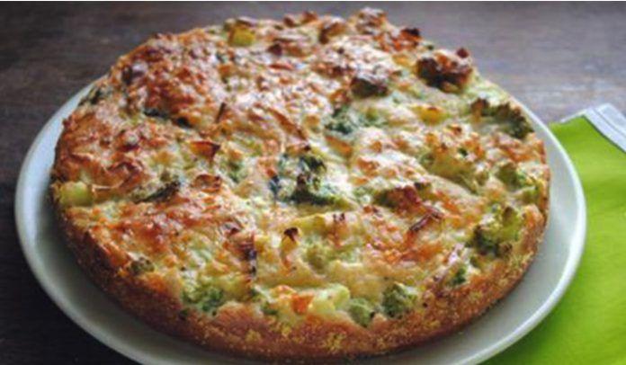 FITNESS brokolicová torta