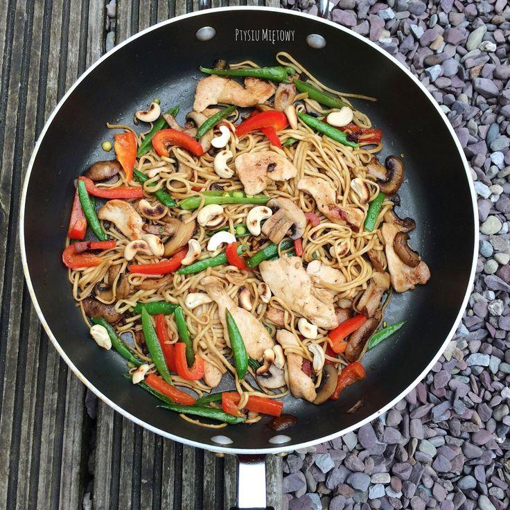 Ptysiu Mietowy: Azjatyckie smaki w irlandzkim ogródku...czyli arom...