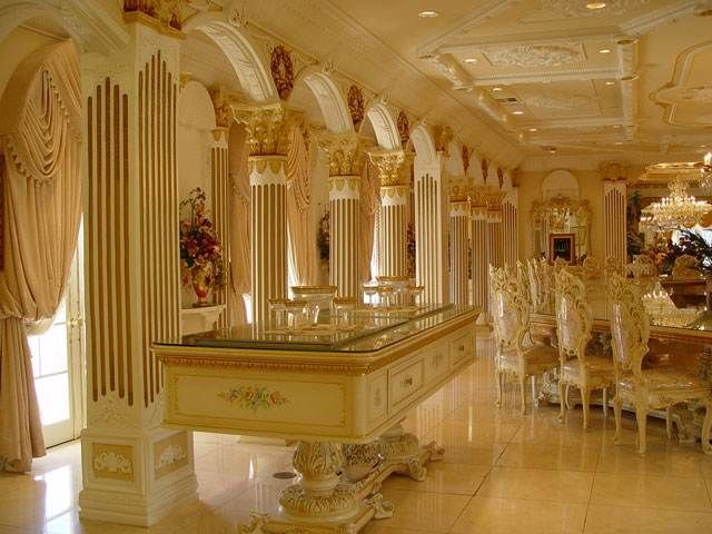 Robert gabriel mugabe 39 s dining room dictator of zimbabwe for Dining room suites zimbabwe