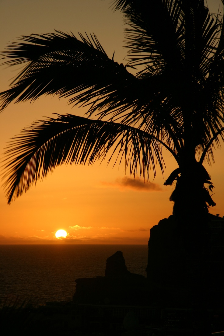 The sunset over Puerto Rico.... #Spain