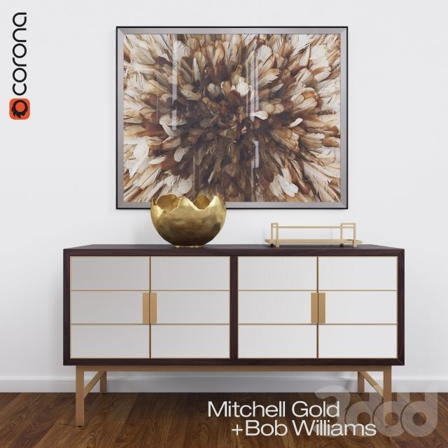 DELANEY BUFFET by Mitchell Gold and Bob Williams