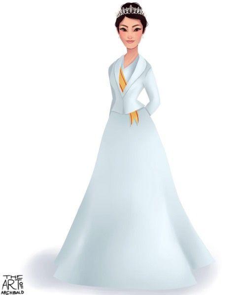 Princess Kako of Akishino Japan - Disney style