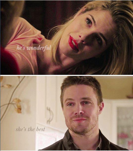Please don't destroy your beautiful love and a future together because of a lie, Oliver, pleeeeeeeeeeeeeease
