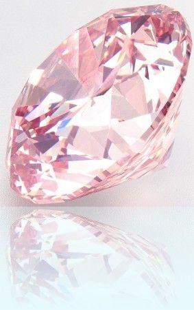Fancy Pink Diamond ~ Martian Pink Diamond sells for $17.4m ~ Marguerite Burrill