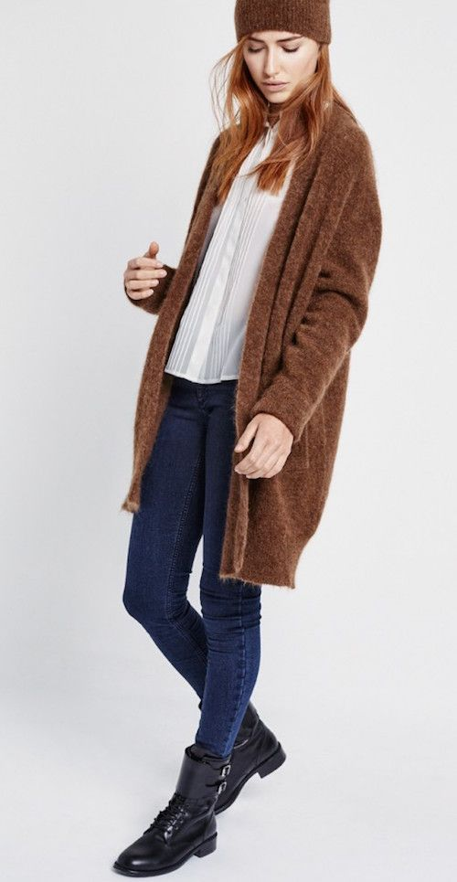 Moda mujer chaquetas largas