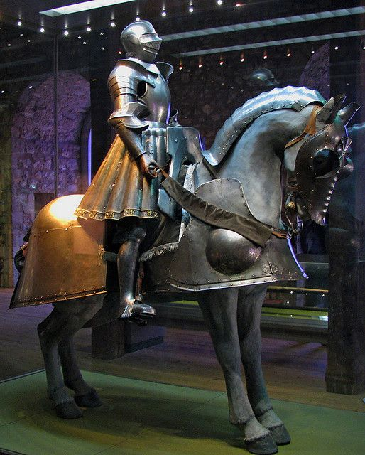 King Henry VIII armour in The Tower of London by Martyn.Smith., via Flickr