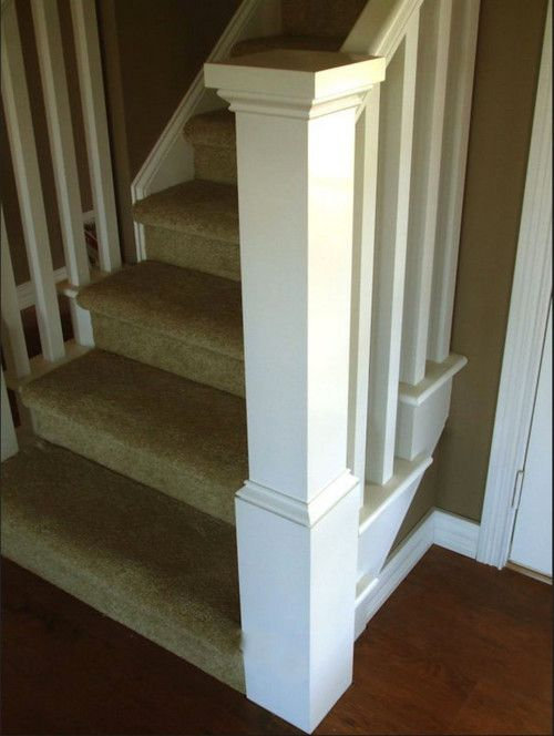 Best 15 Best Box Newel Diy Images On Pinterest Banisters Stair Banister And Stair Railing 640 x 480