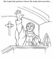 Coloring Book of the Mass- This PDF document contains 12 coloring pages on the parts of the Mass.