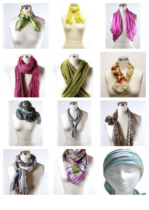 17 Best Images About Scarf Tying On Pinterest Tie
