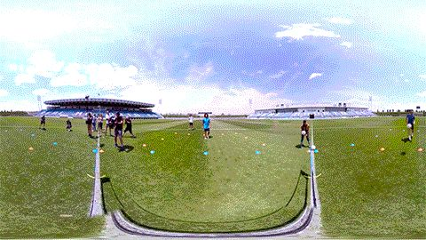 adidas Football : Gareth Bale & Marcelo in 360 Football Tennis