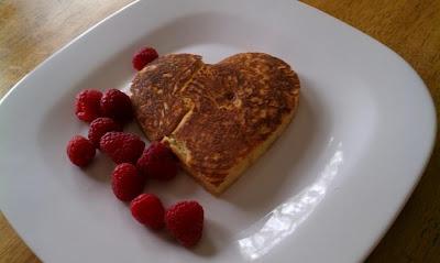 heart shaped banana pancakes more banana pancakes shaped banana ...
