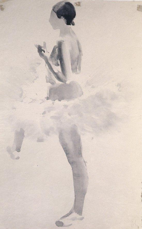 Владимир Лебедев (1891-1967) Танцовщица.