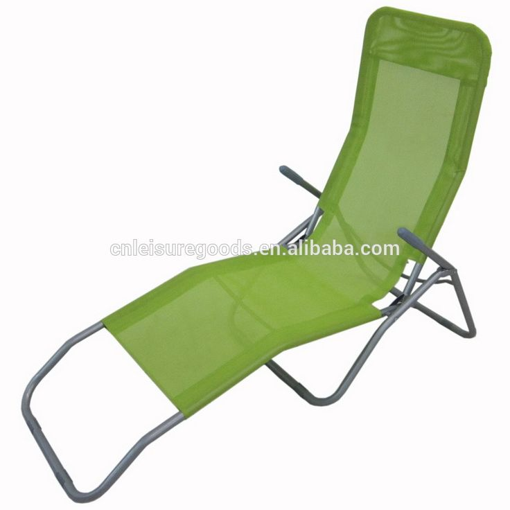 Outdoor garden metal cheap sun lounger
