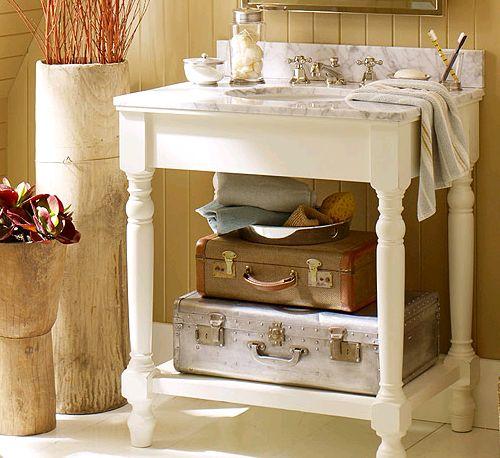 Shabby Chic Bathrooms Ideas: Oooh... Main/guest Bath