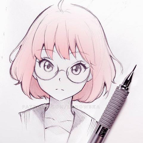 #SketchWithAsia neues Thema: Mirai Kuriyama mit ne…