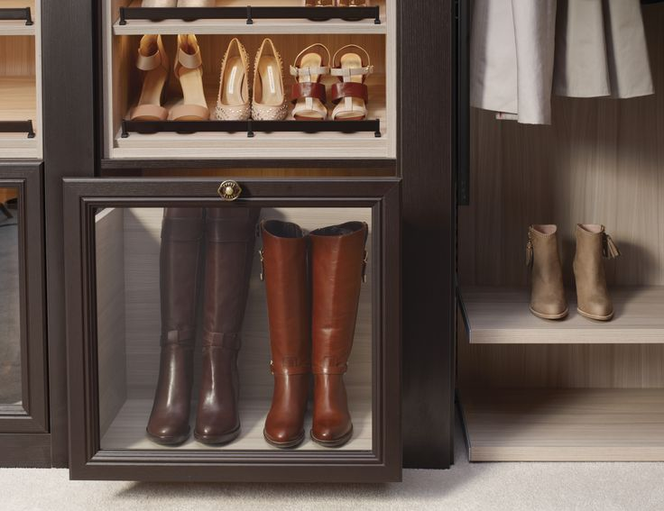 Lovely California Closets Custom Boot Storage Design! Get Those Boots Off The  Floor!