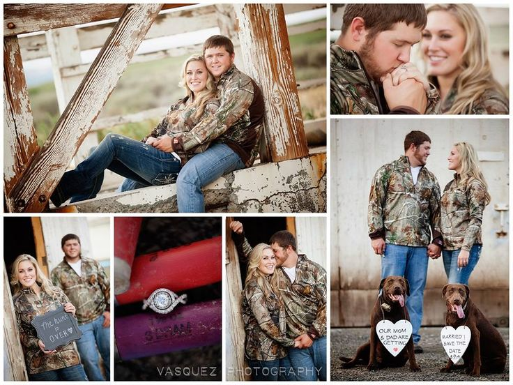 The Hunt is Over Engagement with #realtreeXtra Love.