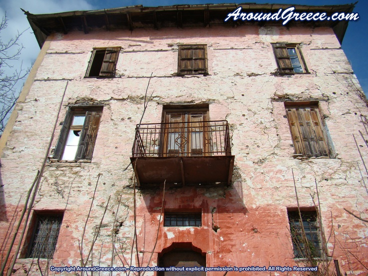 Old ruined house in Pelion  http://www.aroundpelion.com