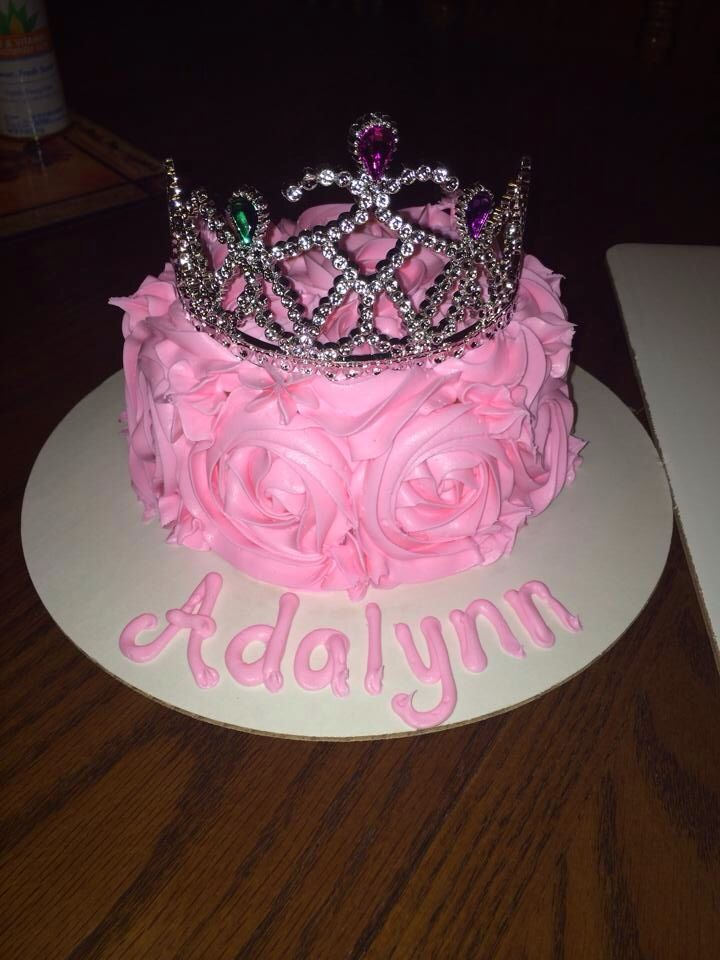 Princess smash cake